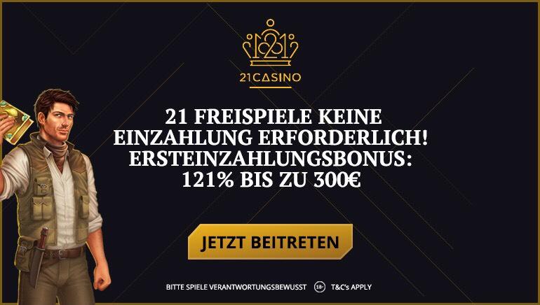21 Casino bringt Leben in den Slot