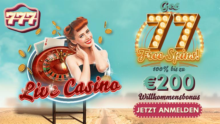 Schnappen Sie sich Ihre 77 einzahlungsfreie Freispiele im 777 Casino heute