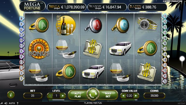 NetBet Spielbank krönt Mega Fortune Jackpot-Gewinner