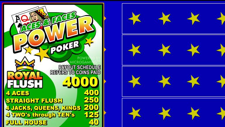 Spielen sie Aces & Faces Videopoker Online bei Casino.com Österreich