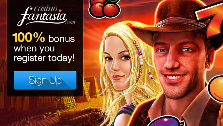 Casino Fantasia mit tollen Spielen und Boni im Angebot