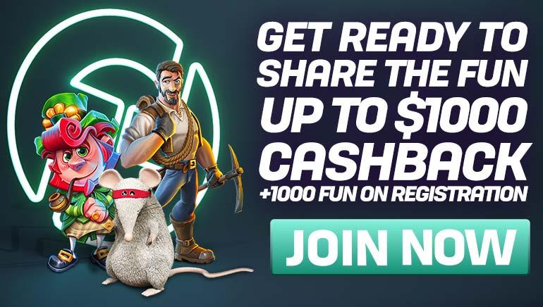 Großzügige Rückzahlungen und FUN warten auf CasinoFair