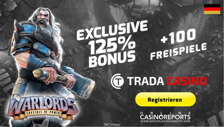 Erhalten Sie mehr mit Trada Casinos heftigem Willkommensangebot