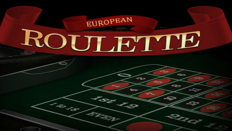 online casinos european roulette