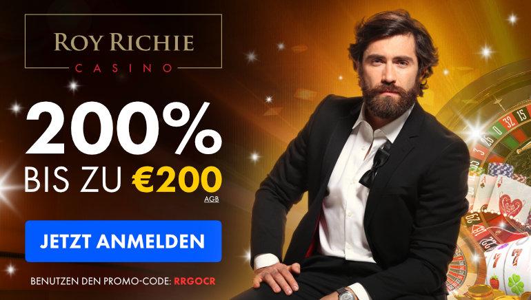 Roy Richie Casino: Hunderte von beliebten Titeln & Massiver Willkommensbonus