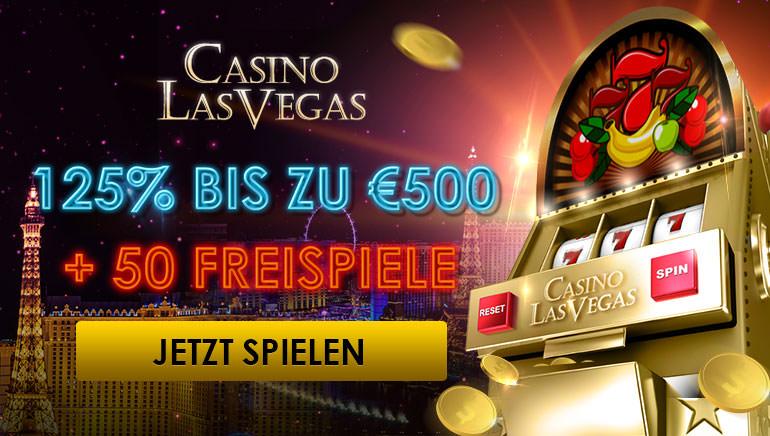 Starten Sie richtig durch mit dem Casino Las Vegas Welcome Deal