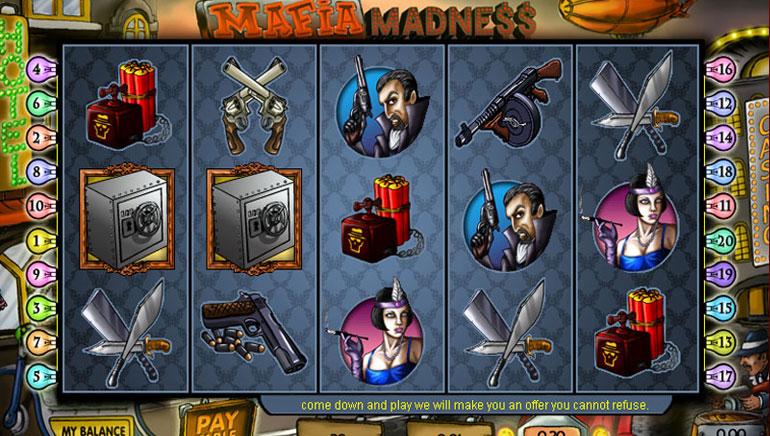Mafia Madness – 100 kostenloste Drehungen