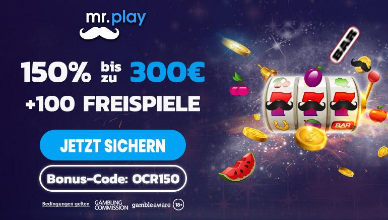 Beanspruchen Sie ein exklusives Angebot bei mr.play Casino