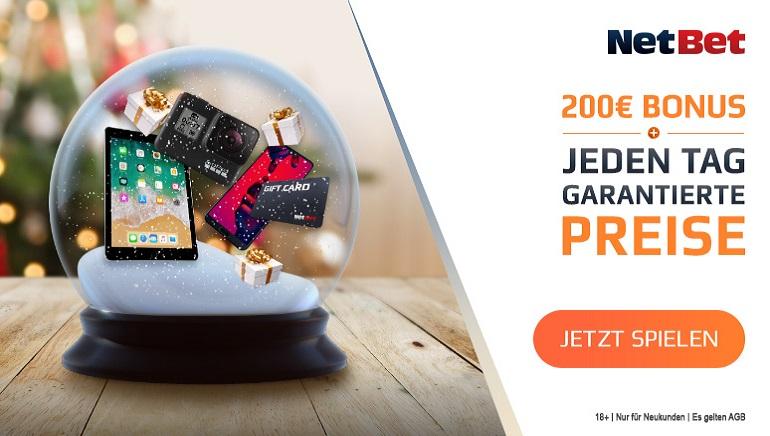 NetBet Casino verteilt Schneekugel-Preise