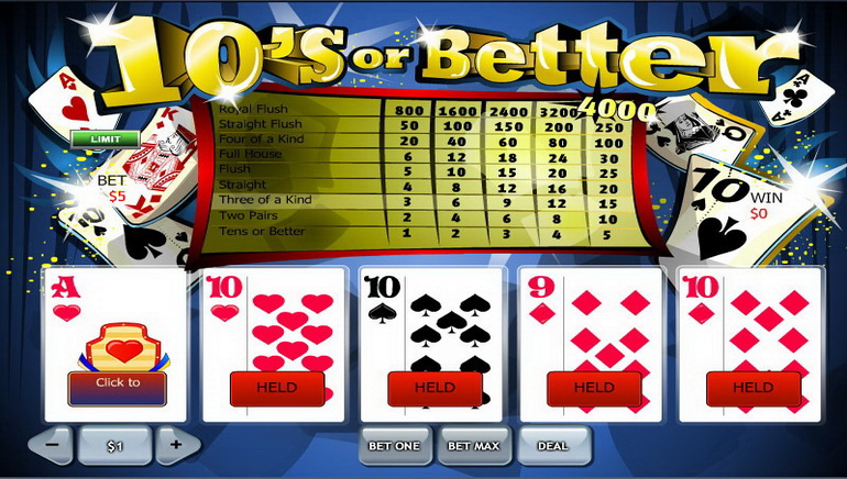 online casino video poker spiele k