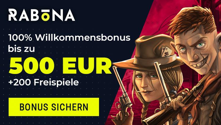 Holen Sie sich das € 500 Willkommensangebot von Rabona Casino und 200 Freispiele